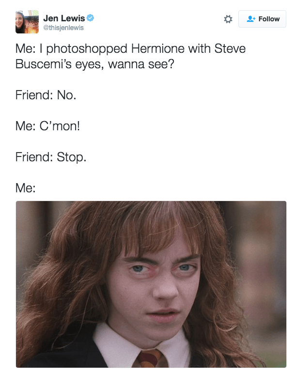 image steve buscemi harry potter No....WHY?