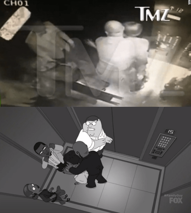 trending news parody video family guy jay z beyonce solange elevator fight funny