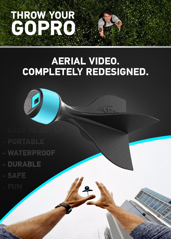 trending new tech accessory gopro arrow aer cool video kickstarter