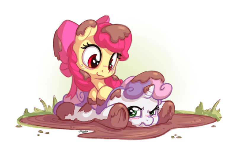 apple bloom,Sweetie Belle