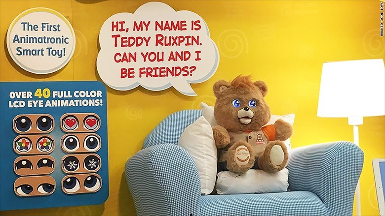 trending news video 2017 teddy ruxpin 80s toy fail