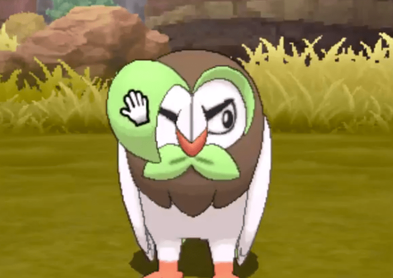 pokemon-sun-and-moon-reveals-starter-evolutions-and-rowlet-is-going-through-a-phase