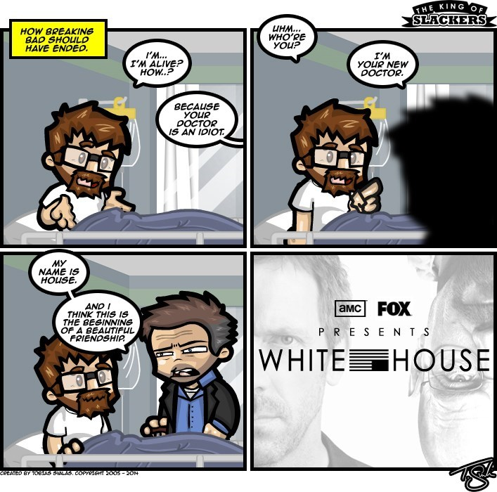 web comics breaking bad house Great Idea for a Spinoff