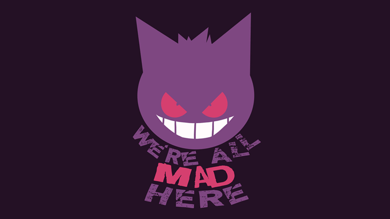 Pokémon Fan Art gengar - 8981115136