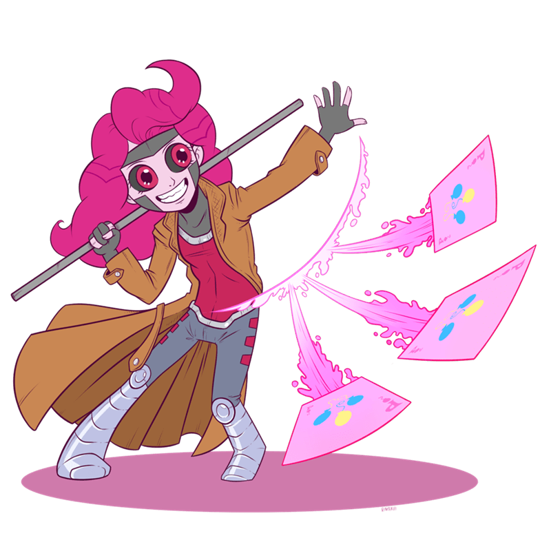equestria girls legend of everfree pinkie pie gambit ponify - 8981199872