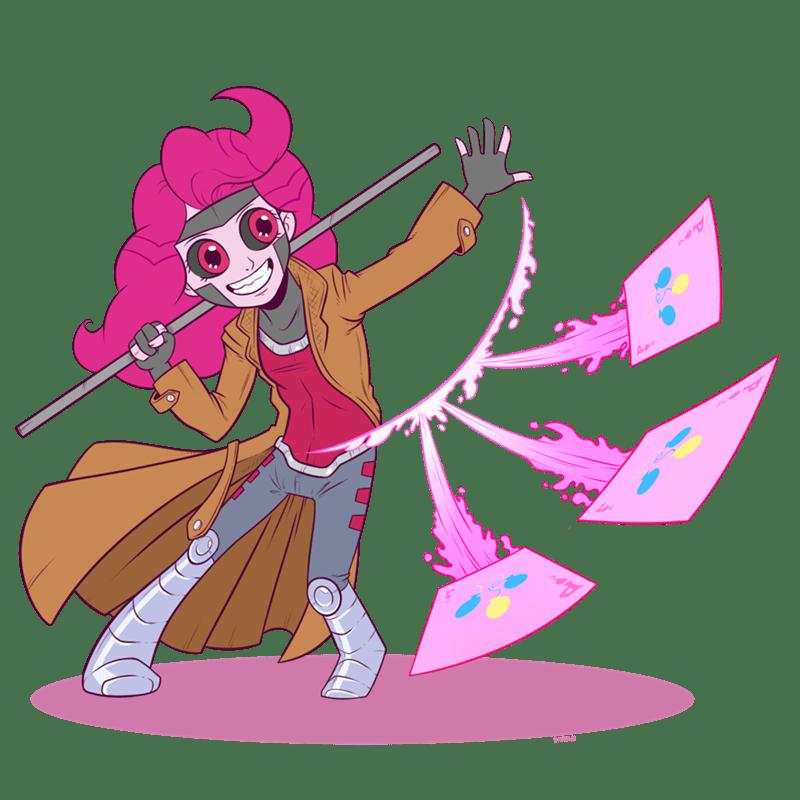 equestria girls,legend of everfree,pinkie pie,gambit,ponify