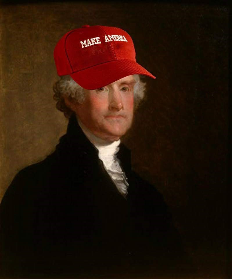 george washington,hat