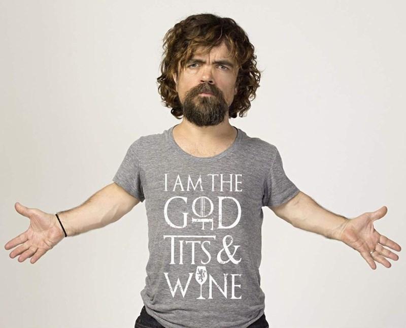 T-shirt - IAM THE GOD TITS& WYNE