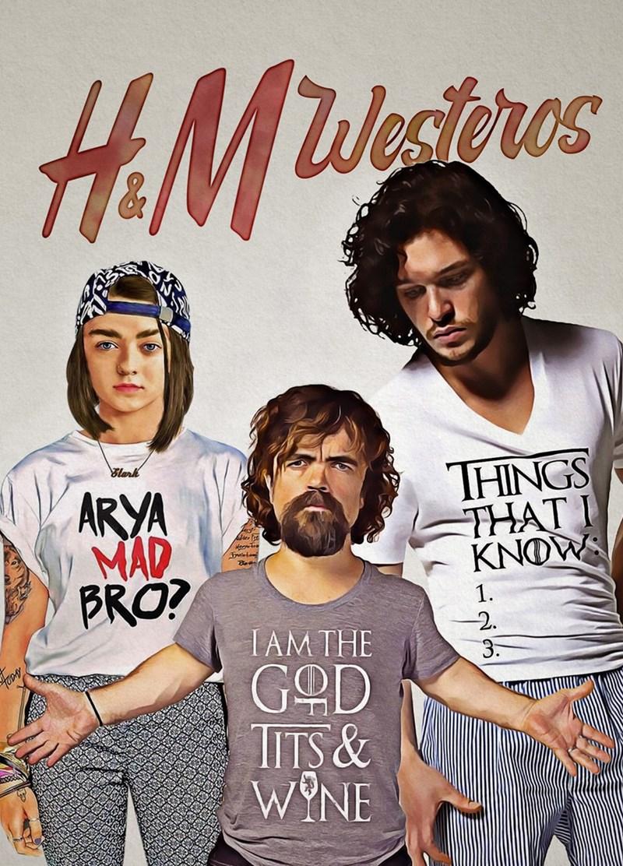 T-shirt - HaMWeatores Blark THINGS THATI KNOW ARYA MAD BRO? Herwtre 1 2 3. IAM THE GOD TITS& WYNE