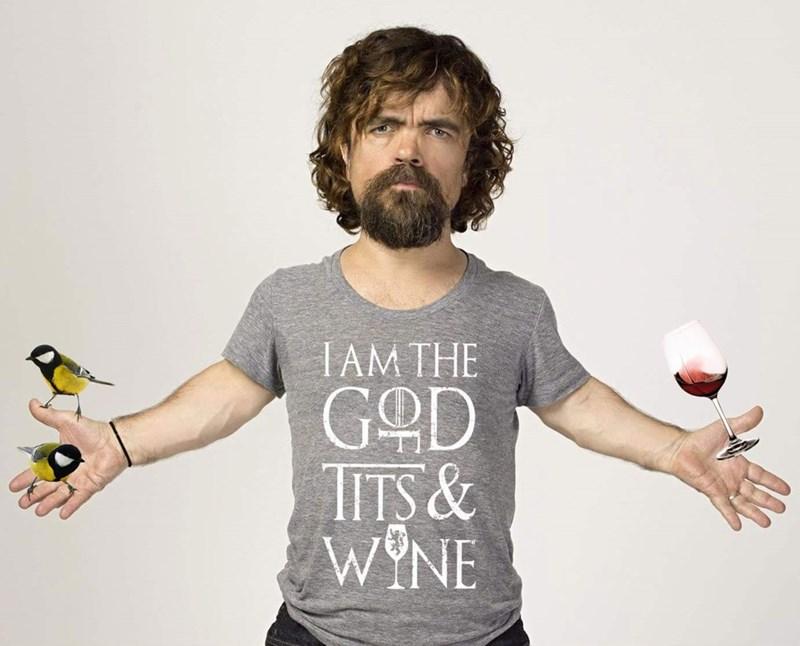 T-shirt - IAM THE GOD TITS & WYNE