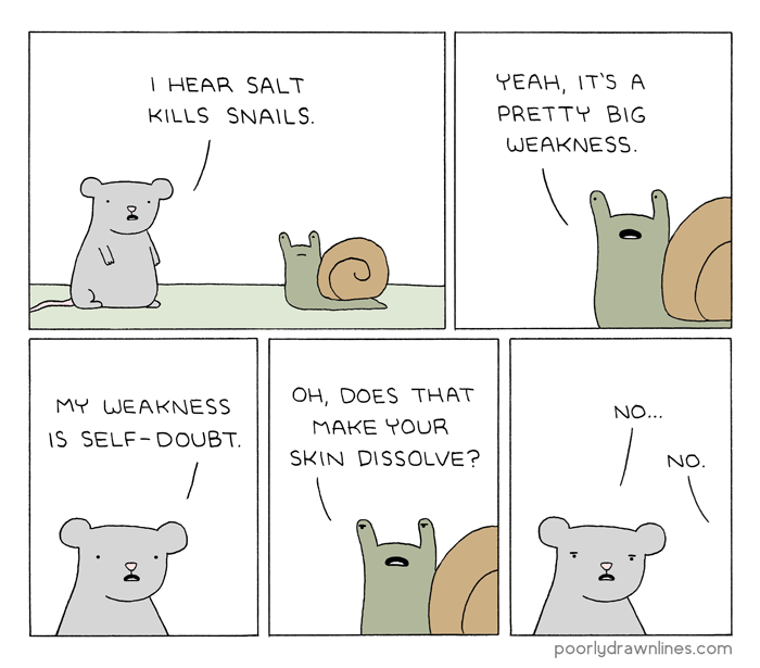 weakness snail web comics - 8981492480
