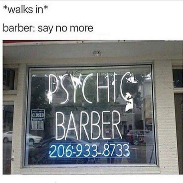 psychic barber image - 8981492736