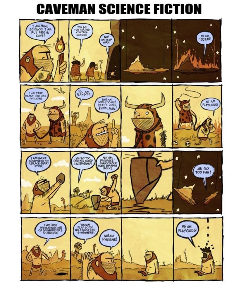 cavemen science fiction web comics - 8981598464