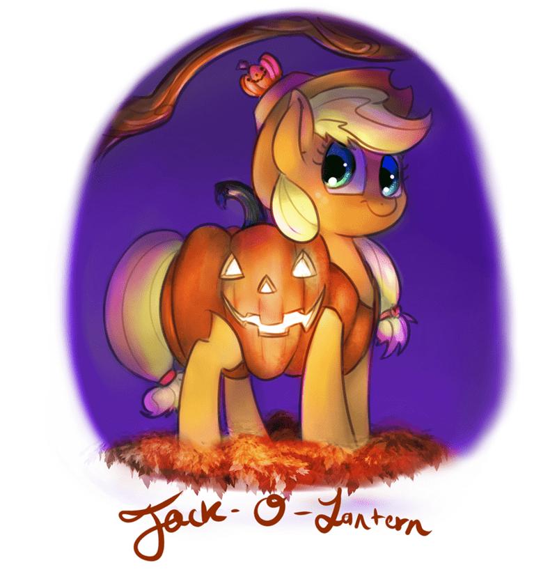 costume applejack jack o lanterns - 8981614848