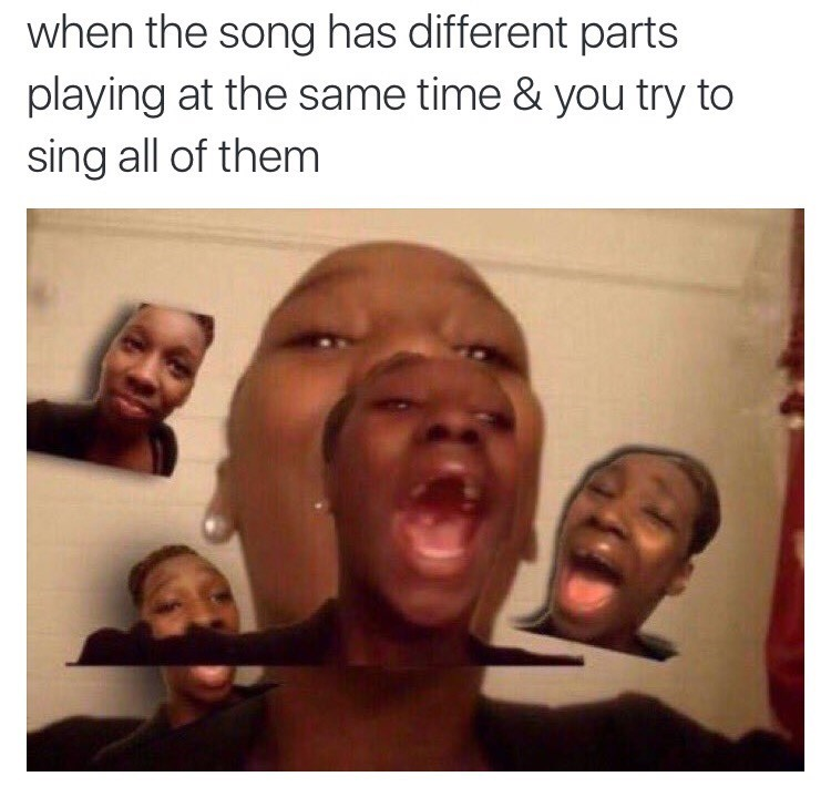 Music singing image