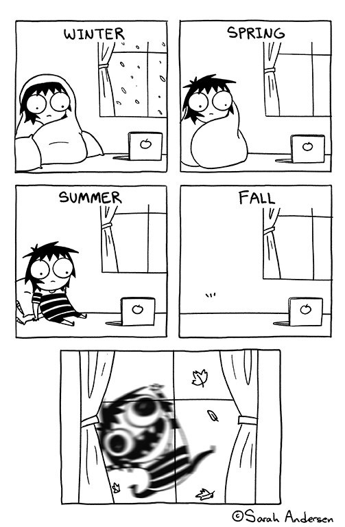 seasons web comics fall