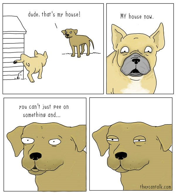 dogs territory web comics - 8981946624