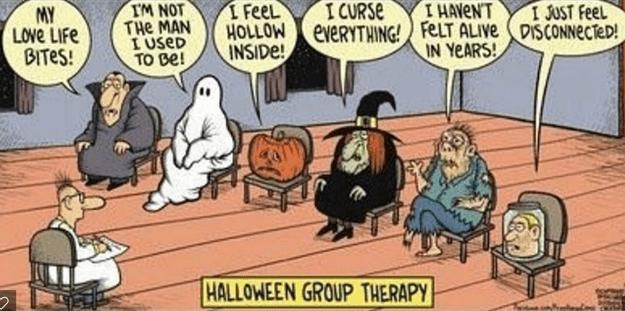 halloween therapy puns web comics - 8982027776