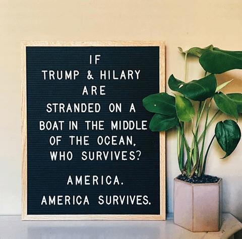 donald trump Hillary Clinton - 8982275328