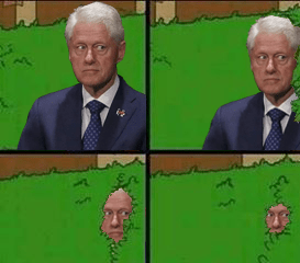 Memes the simpsons politics image bill clinton
