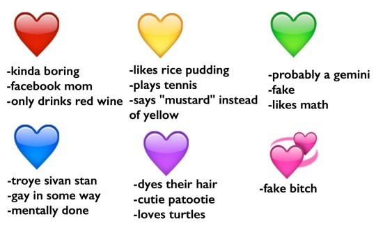 """Text - -likes rice pudding plays tennis -only drinks red wine -says """"mustard"""" instead -likes math of yellow -kinda boring probably a gemini -facebook mom -fake -troye sivan stan -gay in some way mentally done -dyes their hair -cutie patootie -fake bitch -loves turtles"""