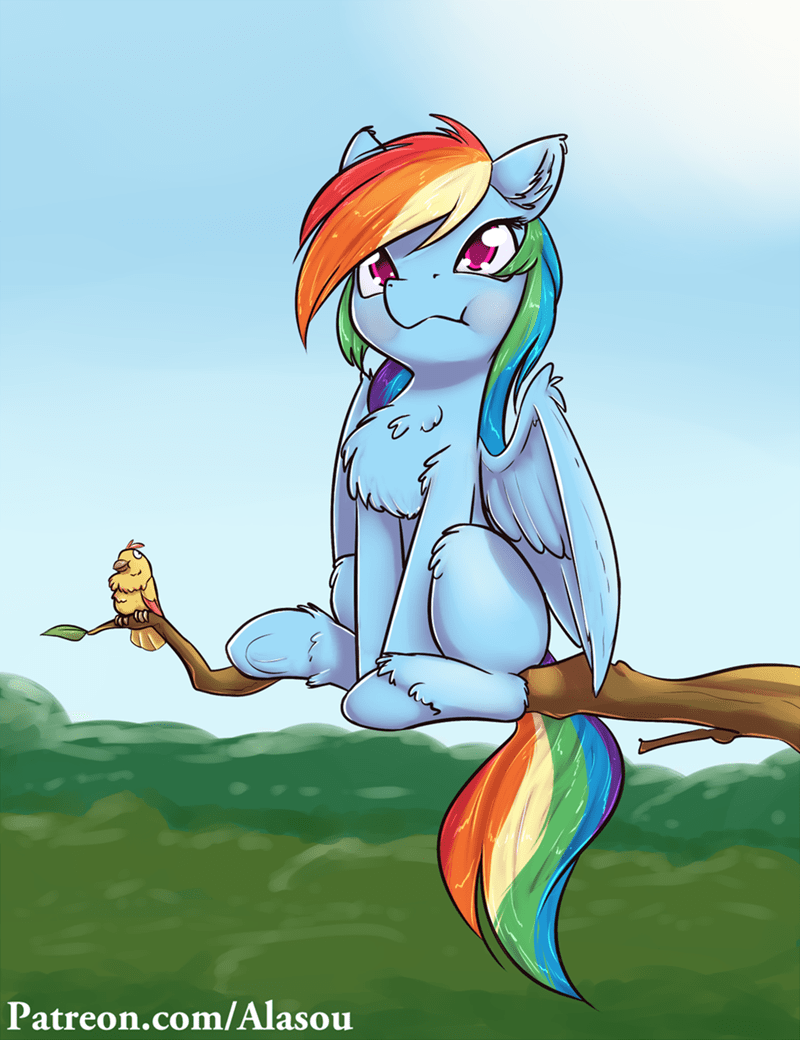 acting like animals rainbow dash - 8982685184