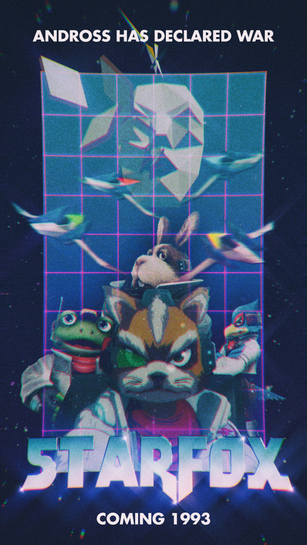 retro-star-fox-styled-video-game-poster