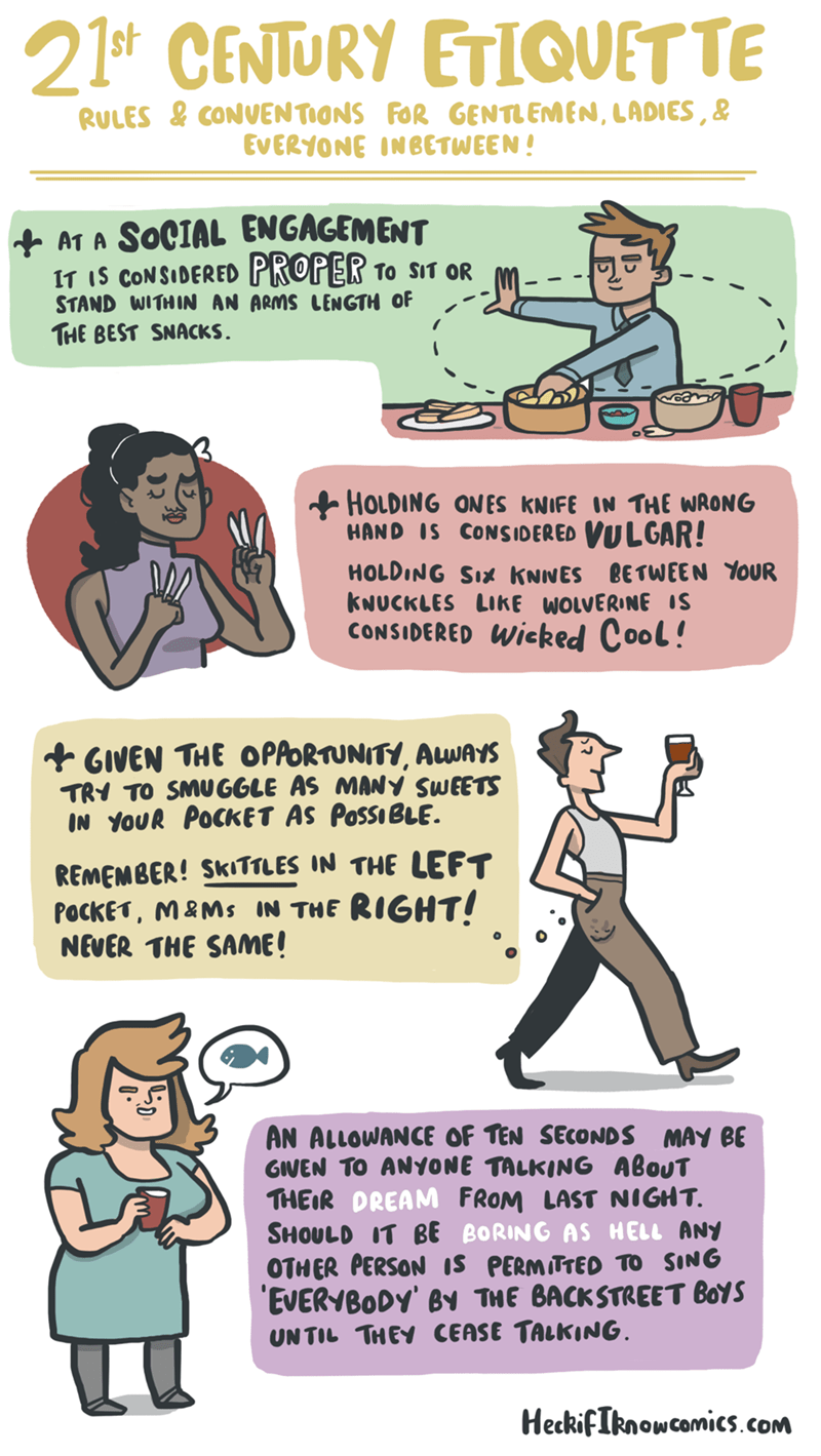 fancy,etiquette,web comics
