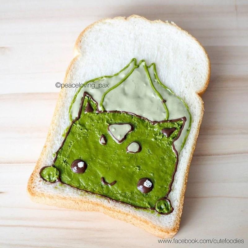 Toast - Opeaceloving_pax www.facebook.com/cutefoodies