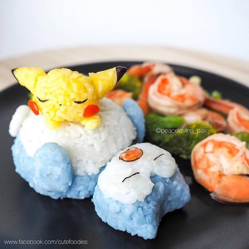 Sushi - Opeaceloving_pax www.facebook.com/cutefoodies