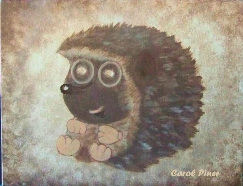 My friend's hedgehog called LittleAPC. It's where she got her name
