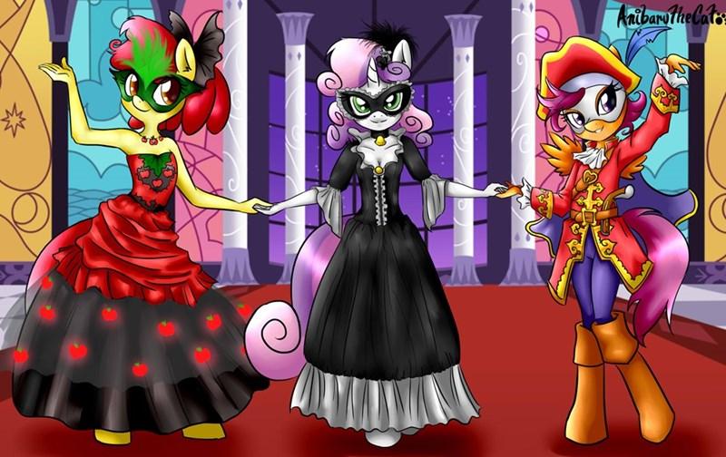 The Cutie Mark Masqueraders