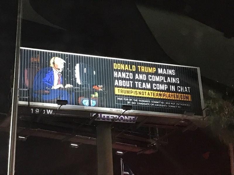 billboard donald trump politics - 8983278848