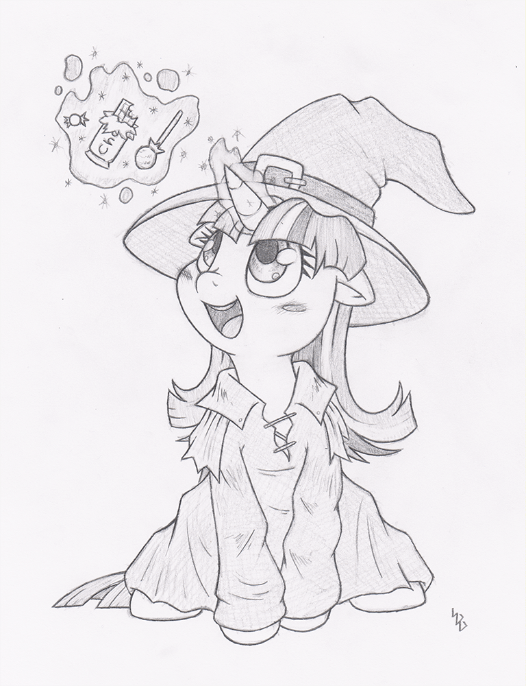 twilight sparkle witch nightmare night - 8983416576