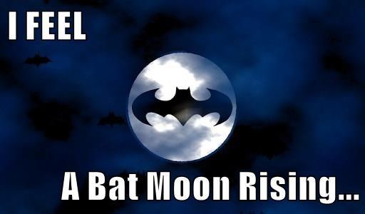 I FEEL  A Bat Moon Rising...