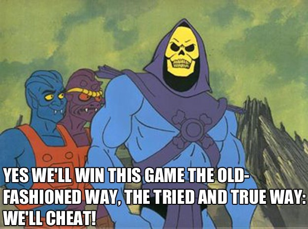 skeletor,video games,video game logic