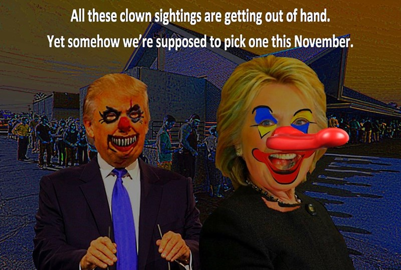 donald trump Hillary Clinton - 8983630336