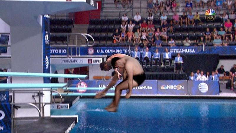 Individual sports - U.S.OLYMPIC TE AL TEAMUSA OTORIO UPUL INDIANAPOLIS NBCSN TRAMUSA RO UPUL
