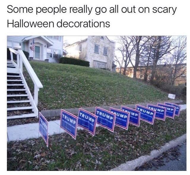 halloween donald trump politics image - 8983717888