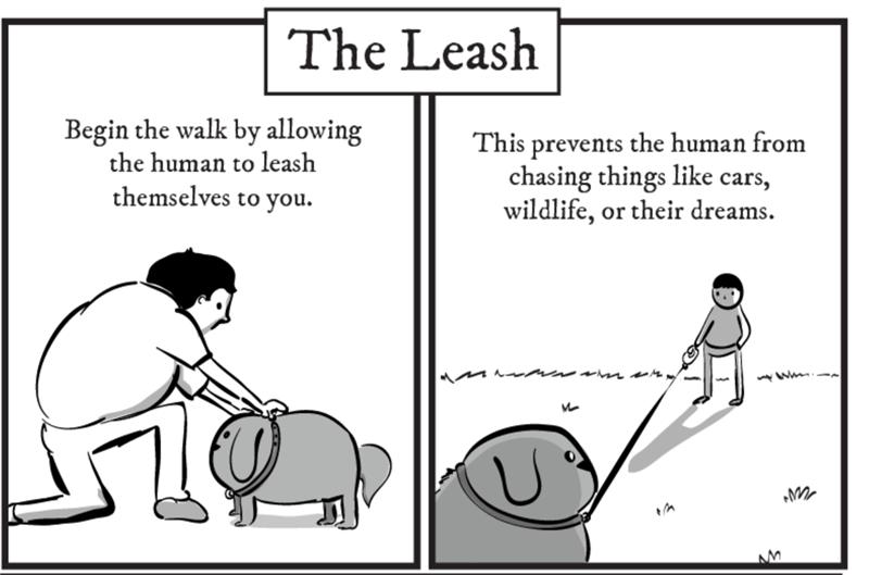 dog guide comics