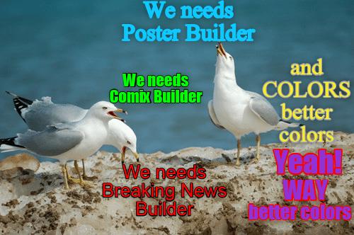 Posterbuilder | Comix | Breaking News
