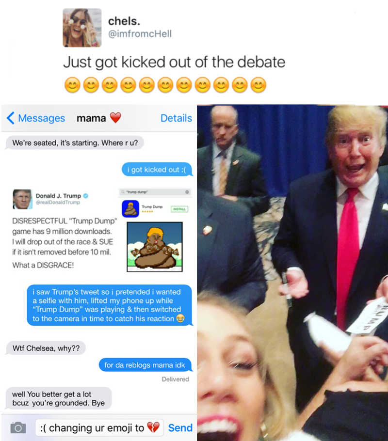 trolling donald trump politics image - 8984171264
