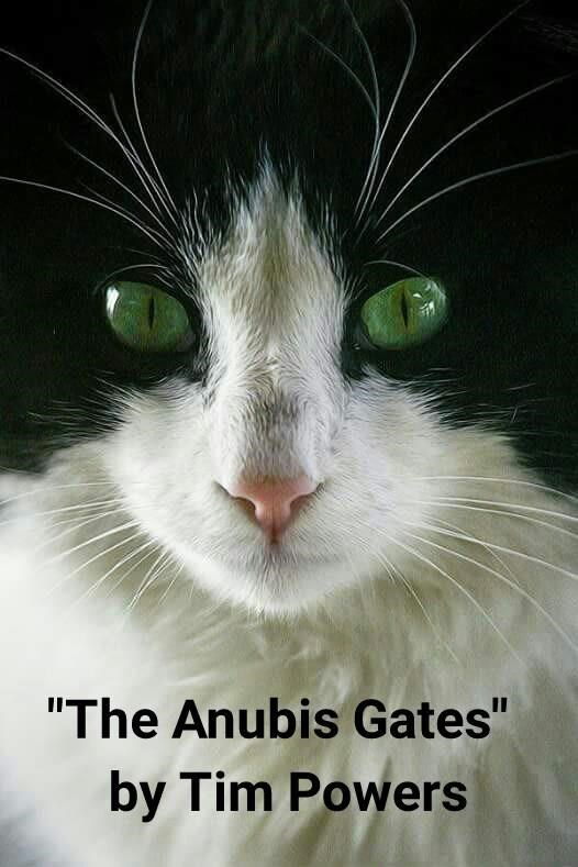 """The Anubis Gates"" by Tim Powers (recaption: http://tinyurl.com/jxxvqye"