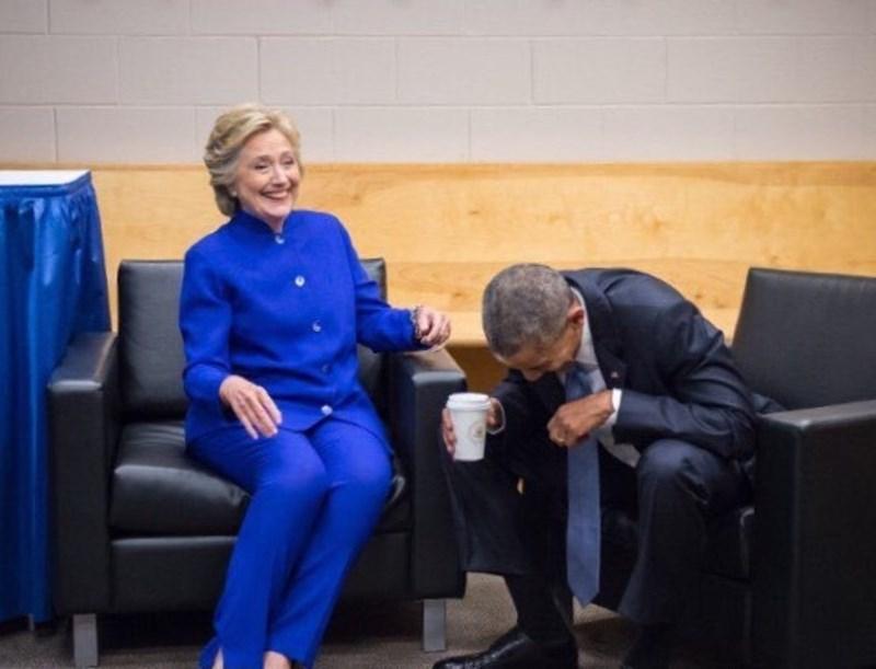 donald trump Hillary Clinton barack obama - 8984411648