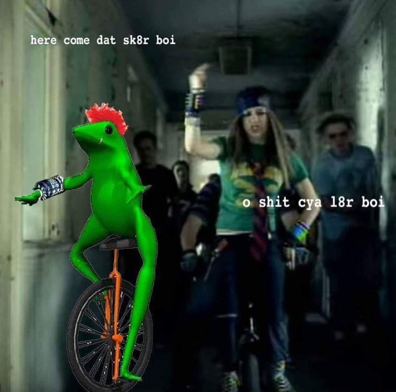 old Memes dat boi image - 8984419072