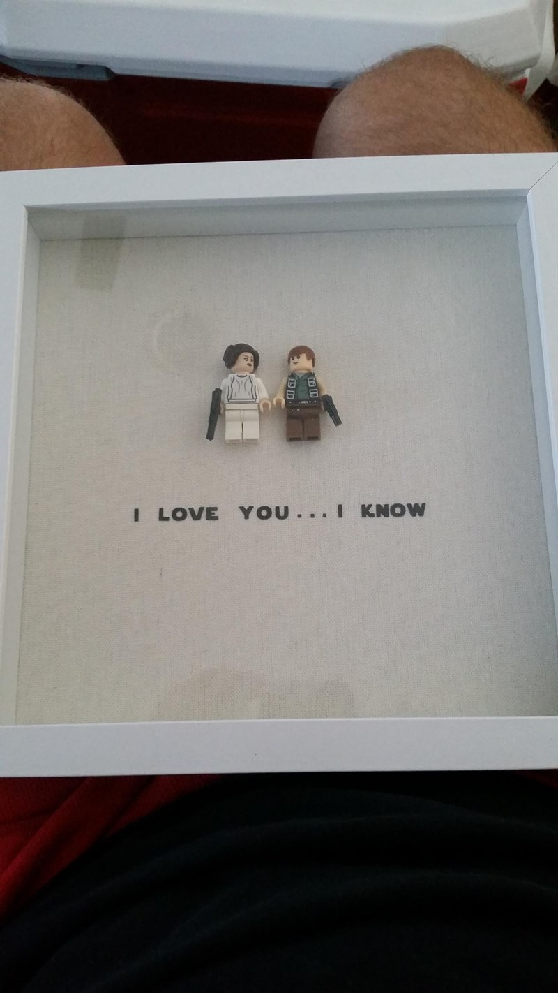 funny dating image star wars lego figures is the prefect geeky romance gift