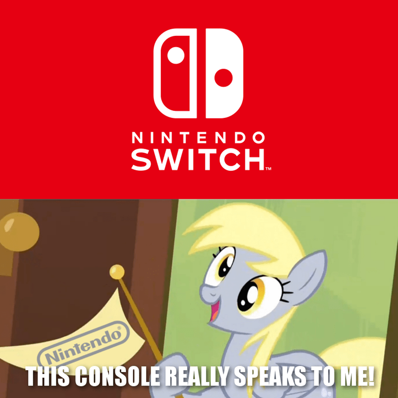 derpy hooves nintendo switch - 8984736256