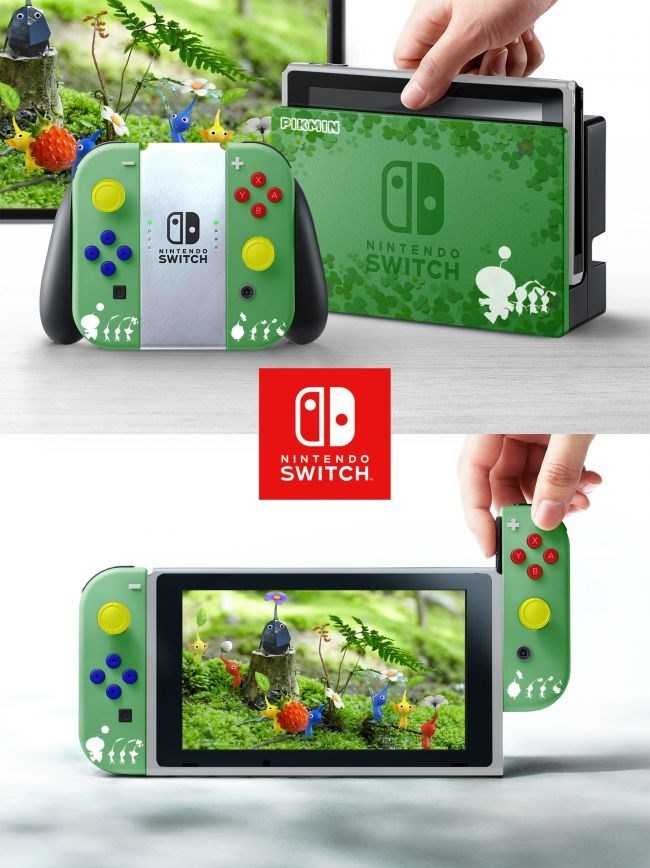 Gadget - PIKMIN lD NINTENDO SWITCH NINTEND0- SWITCH NINTENDO SWITCH i