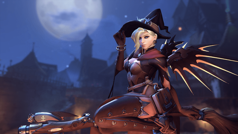 overwatch blizzard halloween Video Game Coverage video games - 8985360128