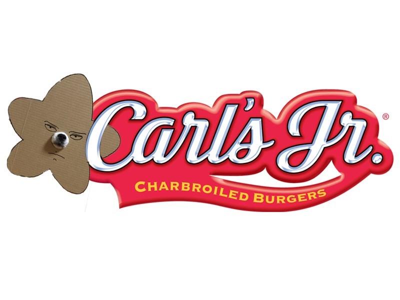 Logo - Carls Fr CHARBROILED BURGERS